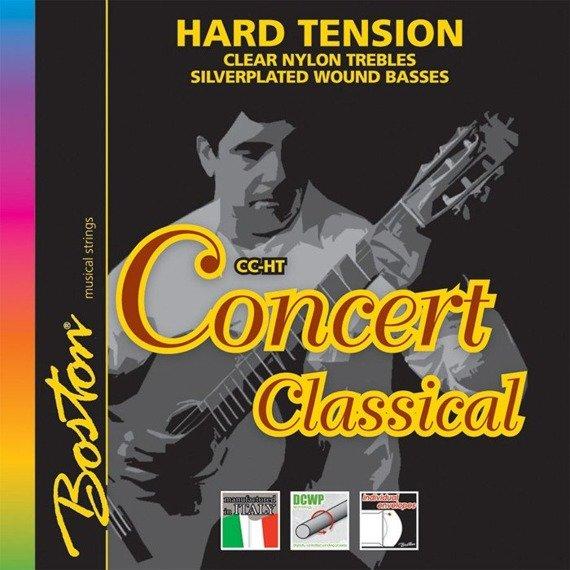 """struny do gitary klasycznej BOSTON """"CONCERT"""" naciąg twardy (CC-HT)"""