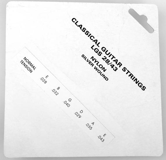 struny do gitary klasycznej CRAFTMAN NYLON, SILVER WOUND LGS /028-043/