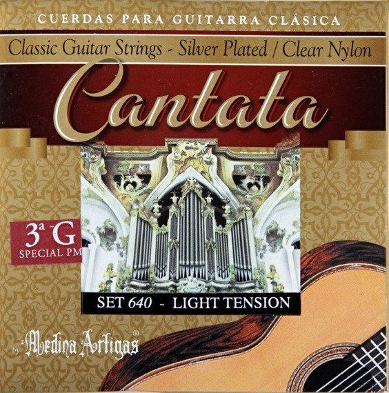 """struny do gitary klasycznej MEDINA ARTIGAS 3G """"Cantata"""" Medium Tension 630"""