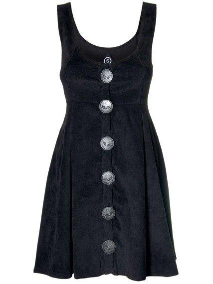 sukienka DISTURBIA - DARCY PINAFORE