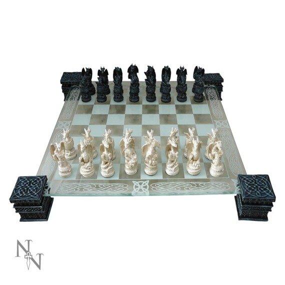 szachy DRAGON CHESS SET