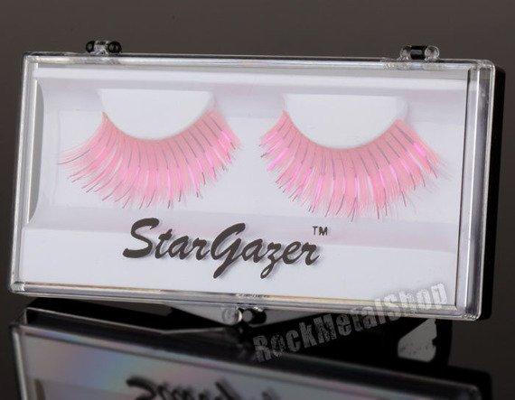 sztuczne rzęsy STARGAZER - BRIGHT PINK AND FOIL (#21)