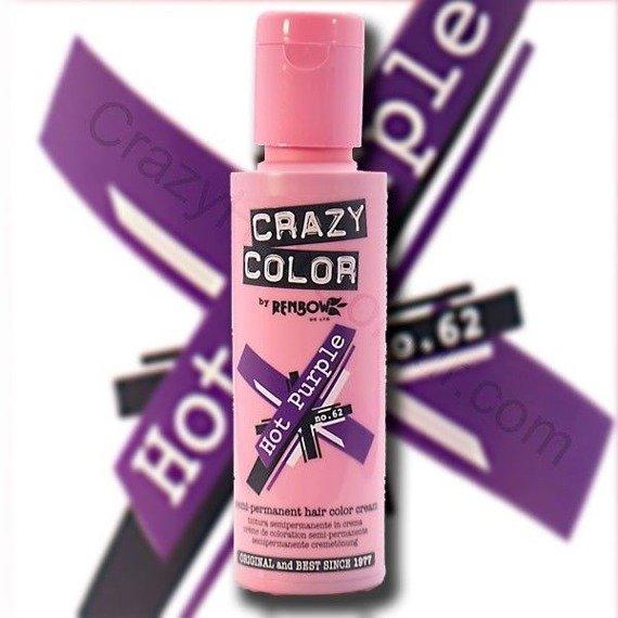toner do włosów CRAZY COLOR - HOT PURPLE [062]