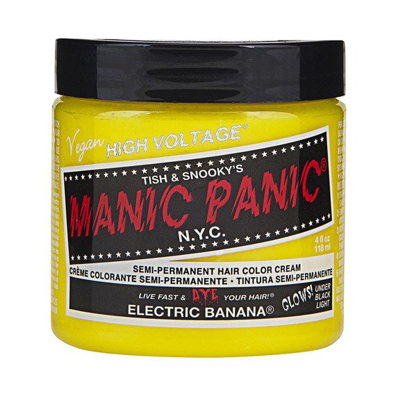 toner do włosów MANIC PANIC - ELECTRIC BANANA