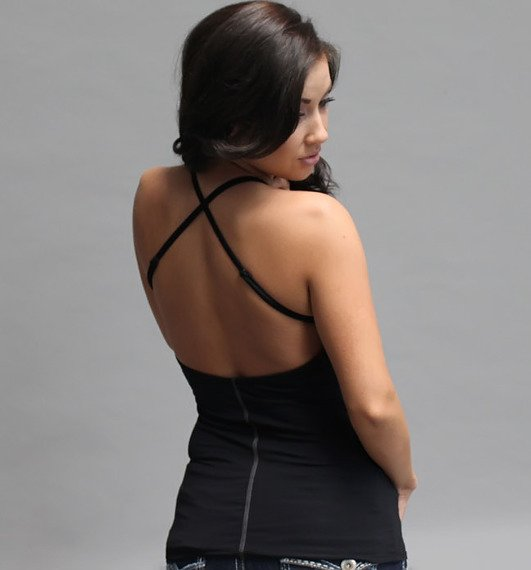 top damski SULLEN - HB czarna