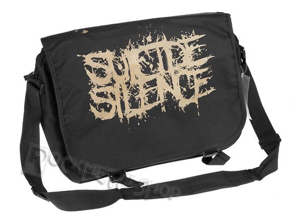 torba SUICIDE SILENCE - CLASSIC LOGO, na ramię