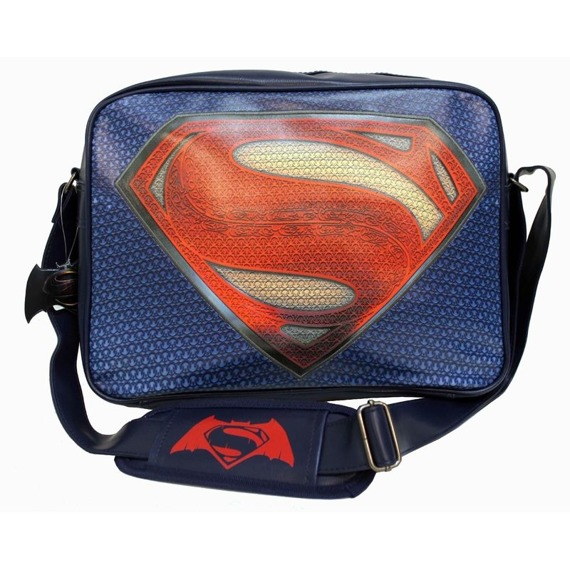 torba na ramię BATMAN VS SUPERMAN - LOGO SUPERMAN