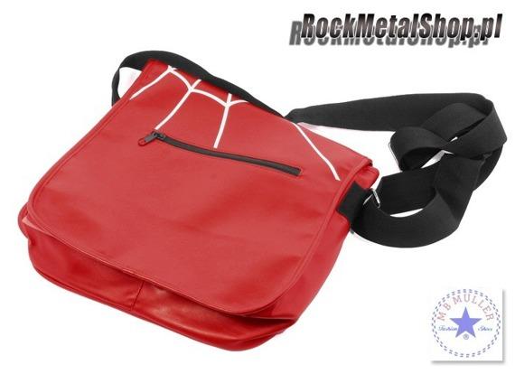 torba na ramię RED SPIDER'S WEB