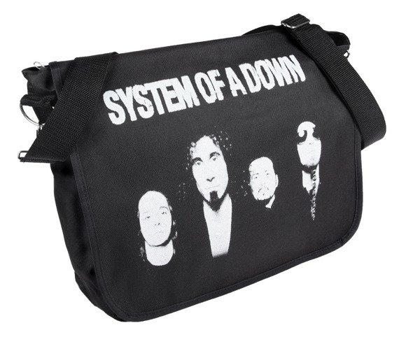 torba na ramię SYSTEM OF A DOWN - LOGO
