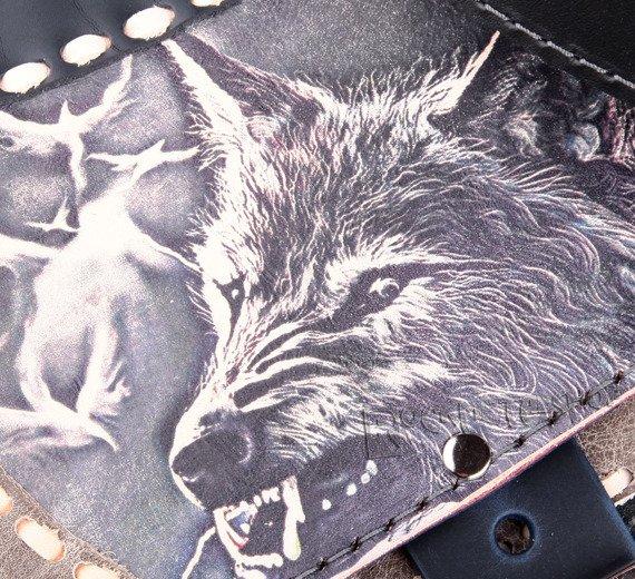 torba skórzana ANGRY WOLF