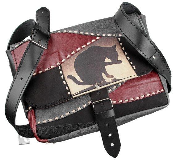 torba skórzana BLACK CAT