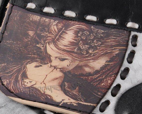 torebka skórzana mała VICTORIA FRANCES - KISS