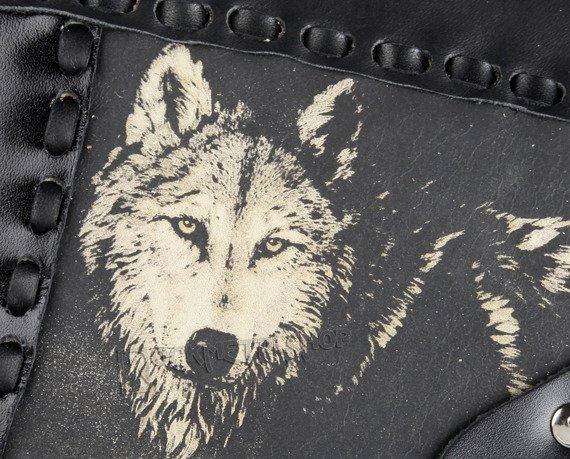 torebka skórzana mała WOLF