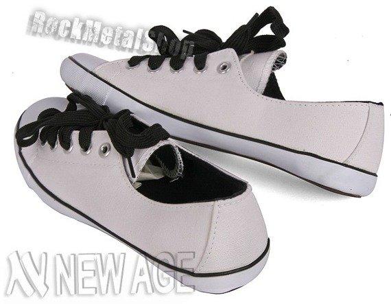 trampki NEW AGE - WHITE (BH-306)