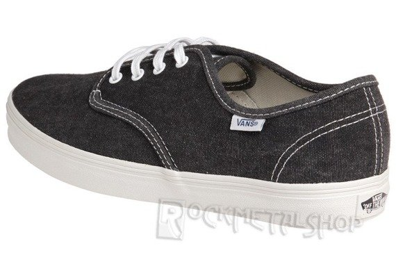 trampki VANS - MADERO WASHED CANVAS BLACK