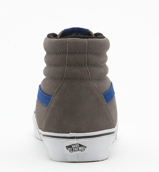 trampki VANS  - SK8-Hi (SUEDE/PEWTER/TRUE BLUE)