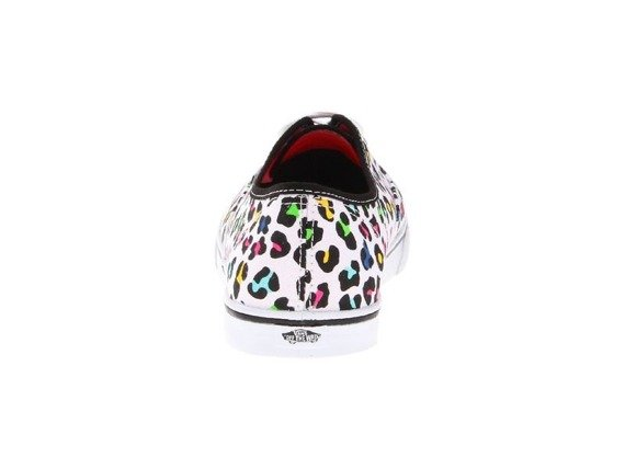 trampki damskie VANS - AUTHENTIC LO PRO NEON LEOPARD/TRUE WHITE