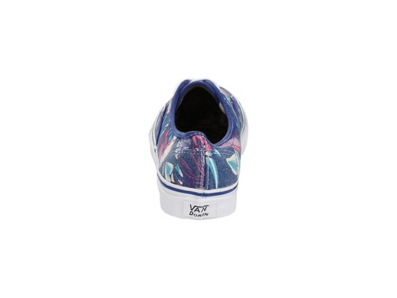trampki damskie VANS  - AUTHENTIC SLIM (VAN DOREN/BLUE/PARROT)