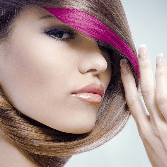 tusz do włosów (HAIR MASCARA) kolor ŻÓŁTY UV (YELLOW)