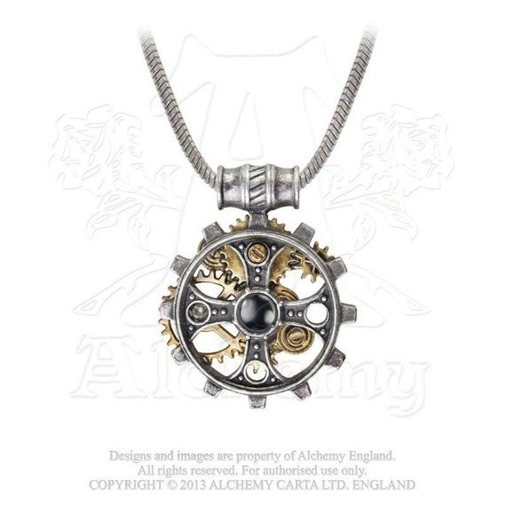 wisior FOUNDRYMAN'S RING CROSS