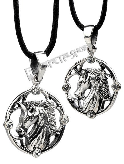 wisior UNICORN, srebro 925
