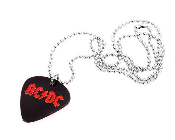 wisior kostka gitarowa AC/DC - LOGO