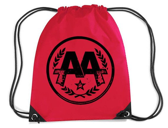 worek / plecak ASKING ALEXANDRIA - CIRCLE LOGO (RED)