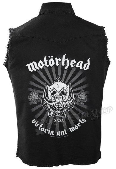 workshirt MOTORHEAD - VICTORIA AUT MORTE 1975-2015