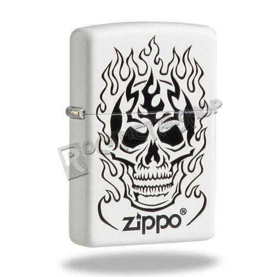 zapalniczka ZIPPO - FLAMING SKULL