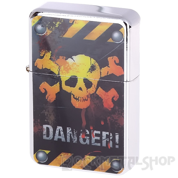 zapalniczka benzynowa DANGER SKULL