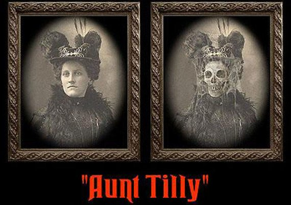 zdjęcie 3D HAUNTED MEMORIES - AUNT TILLY (HUME810AT)