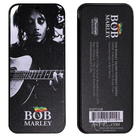 zestaw kostek BOB MARLEY - SILVER (BOB-PT03M)