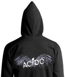 bluza AC/DC - POWERAGE, z kapturem