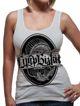 bluzka damska LIMP BIZKIT - CIRCULAR ,na ramiączka (WHITE)