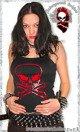 bluzka damska RED SKULL na ramiączkach