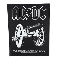 ekran AC/DC - FOR THOSE ABOUT TO ROCK