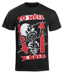 koszulka D.O.A. - TO HELL 'N BACK