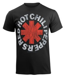 koszulka RED HOT CHILI PEPPERS - DISTRESSED ASTERISK
