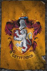 plakat HARRY POTTER -  GRYFFINDOR FLAG
