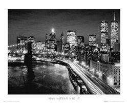 plakat MANHATTAN - NIGHT