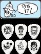 zestaw kostek FRANK KOZIK - DIG IT! (BL113T.73)